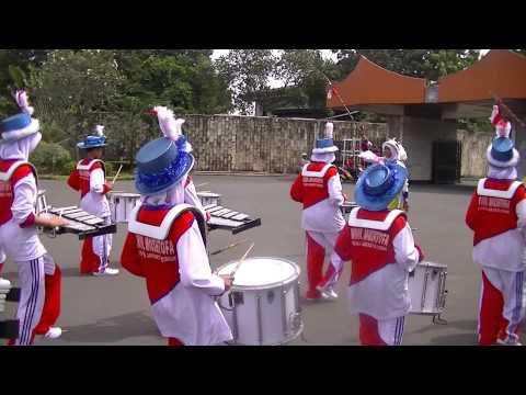 The final countdown Drumband pp nurul mushtofa ciracas in TMII