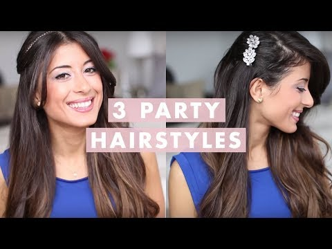3 Holiday Hairstyles - 3 Ünnepi frizura
