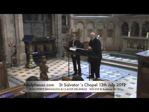 WSCXVI JEAN PIERRE BARAGLIOLI & CLAUDE DELANGLE   4 Tangos canoniques by Gustavo Beytelmann