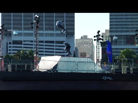 Floating BMX park in Florida - Red Bull Bargespin - Part 2