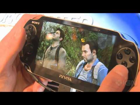 Uncharted: Golden Abyss - E3 2011: Off-Screen Demo Part 1