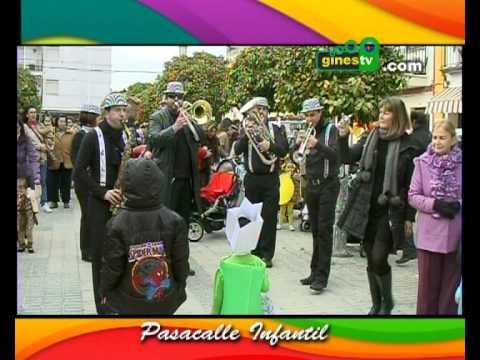 Pasacalle Infantil Carnaval 2012