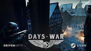 Days of War - Korai Hozzáférés Játékmenet Trailer