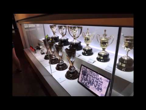 Barcelona Football Stadium - Neymar Messi Iniesta - Trophies