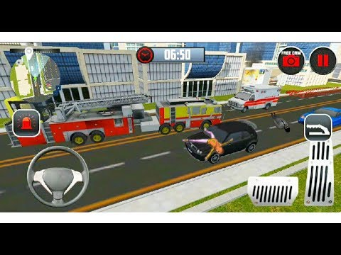 Rescue Fire Truck Simulator 3D - FUNNY GAME 👨🚒# Android Gamer