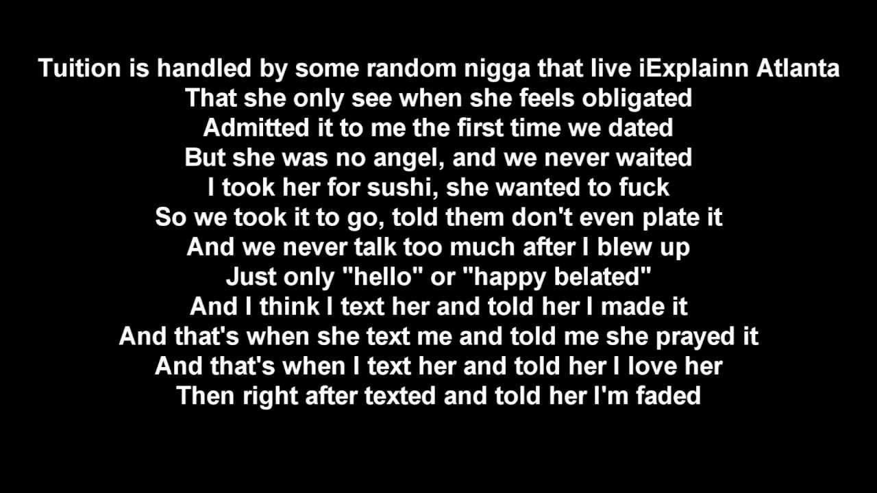 Lil Wayne : Time For Us To Fuck Lyrics - SweetsLyricscom