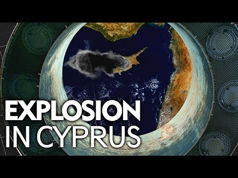 Explosion in Cyprus [Animation]