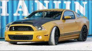 Modified Ford Mustang Shelby GT640 Golden Snake by Geiger videos