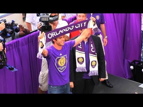 Kaka introduced by Orlando City Soccer