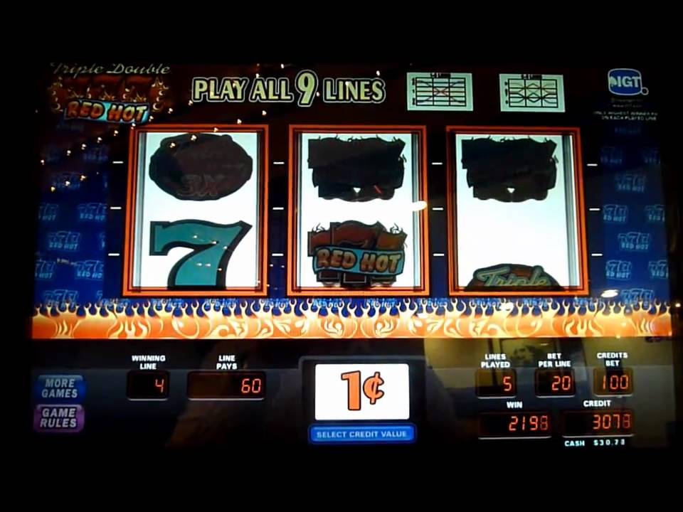 triple double 777 red hot slots free