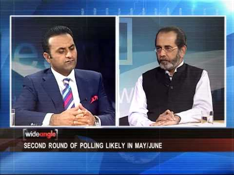 Wide Angle on Afghan Presidential election today at 10 pm