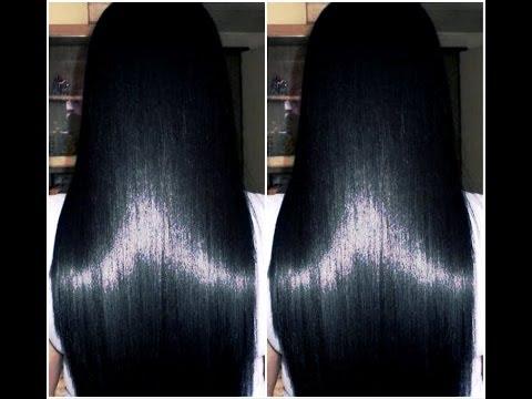 Como fazer o cabelo crescer rápido ,acabar com a queda e mante-lo liso naturalmente com 2 produtos