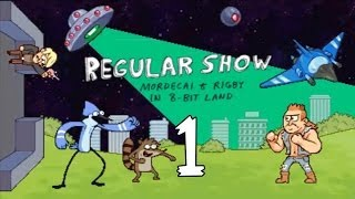 Regular Show Mordecai And Rigby In 8-Bit Land (3DS