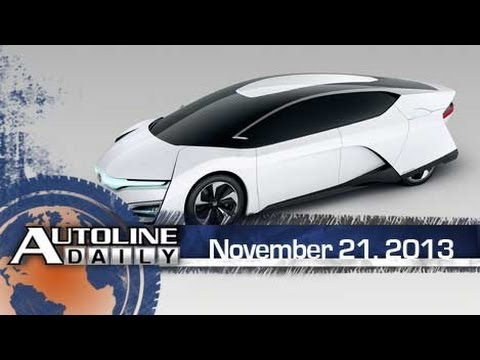 Fuel Cells Take Center Stage in LA - Autoline Daily 1263