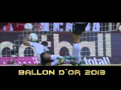 Lionel Messi vs Cristiano Ronaldo vs Ribery   Ballon d'or 2013