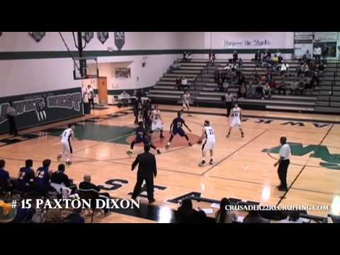Paxton Dixon Academic Basketball Player Profile