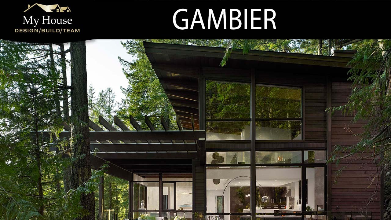 My house feature homes gambier island youtube for My house design build