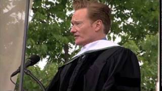 Conan O'Brien Delivers Dartmouth's Commencement Address