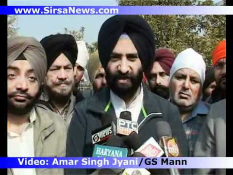 Baba Pritam Singh ji Funeral Day- Jasbir Riar and Manjinder Sirsa Speak