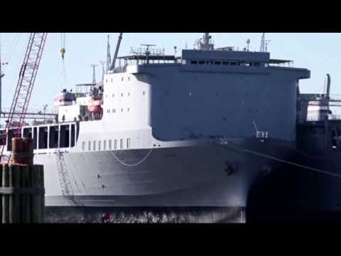 US Ship to Aid in Syria Chemical Weapons Removal