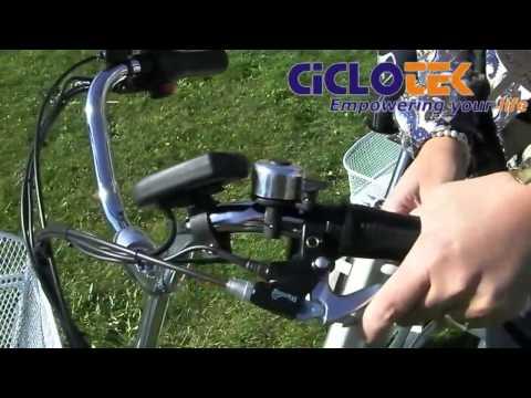 Triciclo Eléctrico CicloTEK Swing
