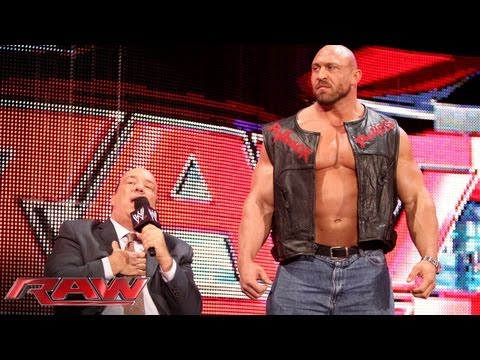 Paul Heyman says he owes his life to Ryback: Raw, Sept. 16, 2013
