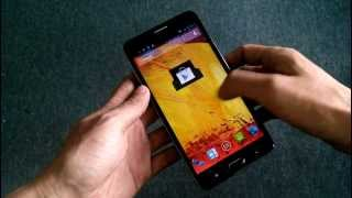Goophone N3 MTK MT6592 8 Cores Android Phone Full Review