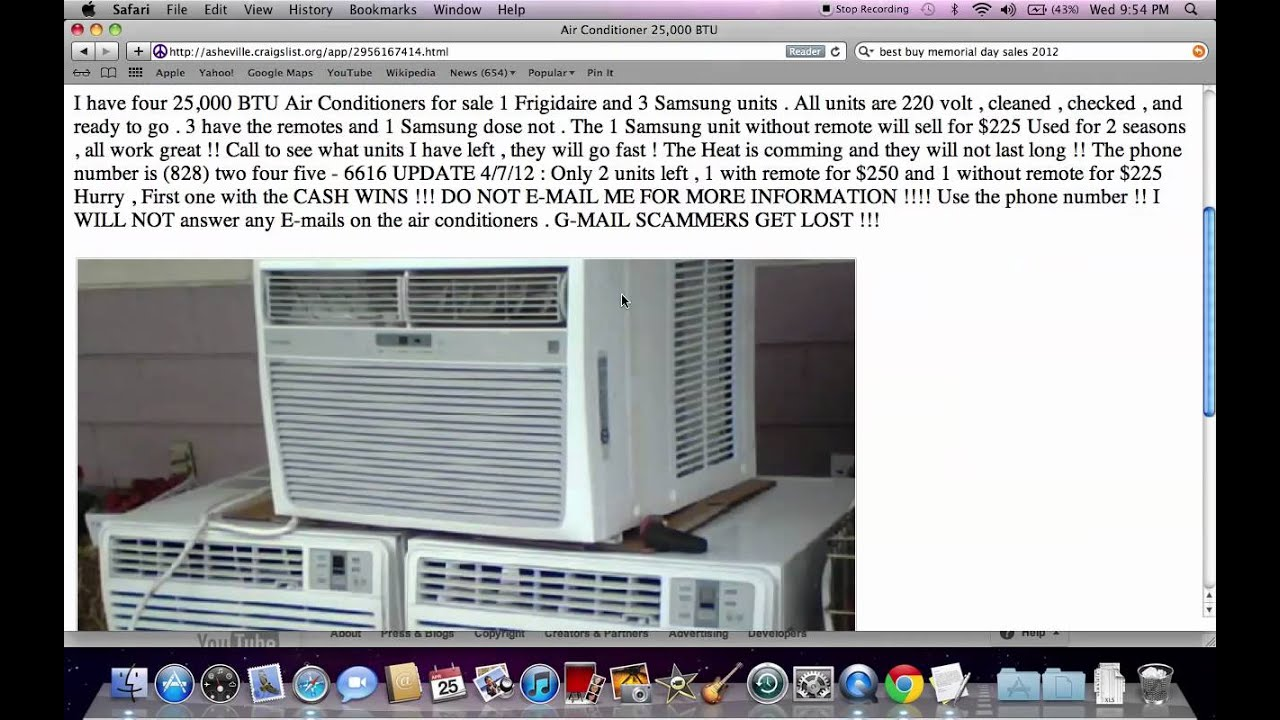 craigslist used appliances for sale by owner setting
