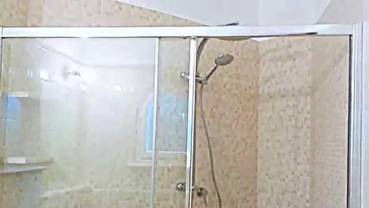 Bagno doccia in muratura - YouTube