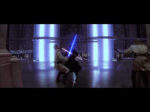 Dark Maul fight , extrait de Star Wars : Episode I - La Menace fantôme (1999)