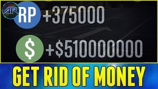 Grand Theft Auto 5 Online : How To Get Rid Of Money In GTA