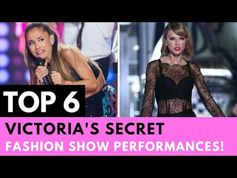 Top 6 Victoria's Secret Fashion Show Performances!