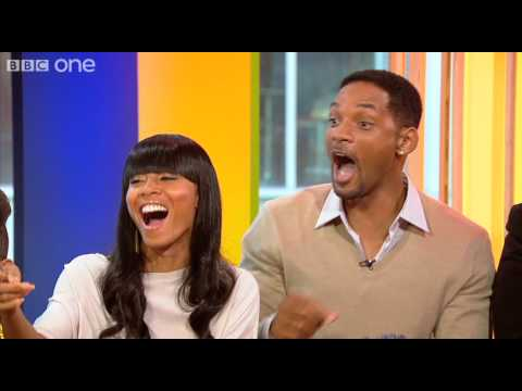 Will Smith and family - The One Show  - BBC One