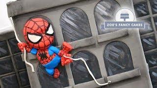 Spiderman Cake New York Skyscraper