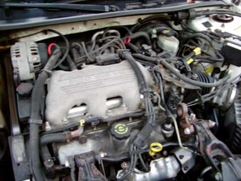 Cold Start 1999 Buick Century Custom 3.1 V6 - YouTube