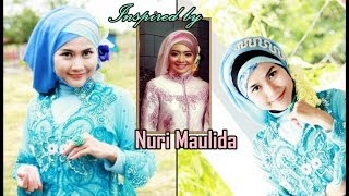 Tutorial Hijab Inspired By Nuri Maulida Hijab Paris