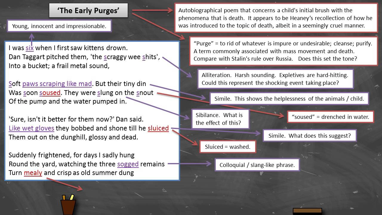 essay on the early purges
