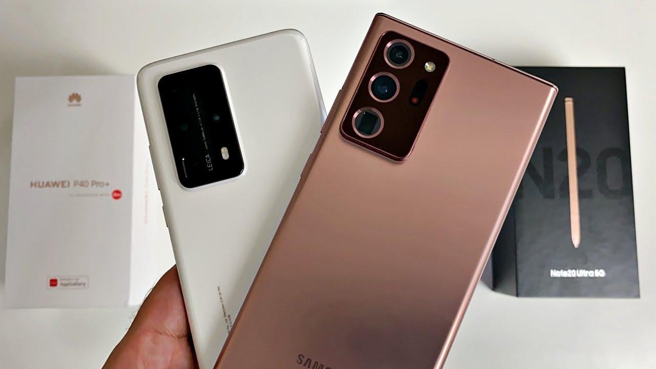 Galaxy Note 20 Ultra vs P40 Pro Plus Camera Test Comparison