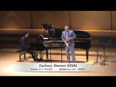 3rd JMLISC Zachary Shemon Sonate by E. Denisov