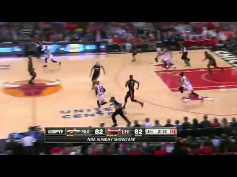 NBA HD - Miami Heat vs Chicago Bulls - 09 March 2014