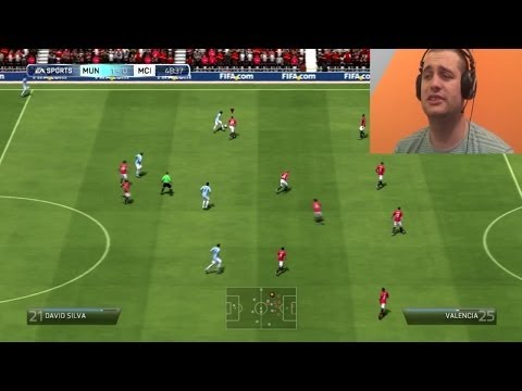 FIFA 14 Manchester United vs Manchester City [Srpski Gameplay]