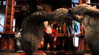 "RISE OF THE GUARDIANS Official Film Clip ""Jack Arrives"