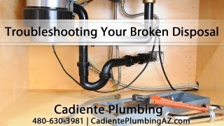 [Troubleshooting Your Broken Disposal With Plumber Brett Cadiente] Video