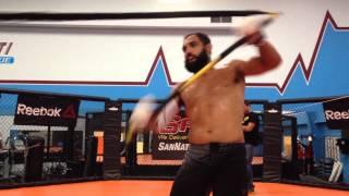 Johny Hendricks uses Combat Sports for his upcoming fight at UFC 171