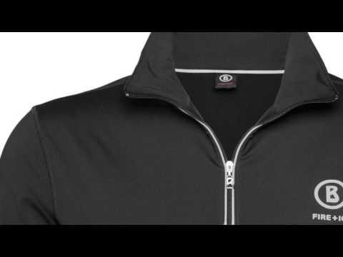 Bogner Berto Mens First Layer Top in Black
