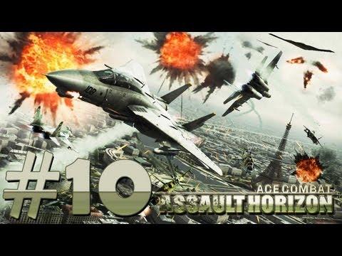 Ace Combat Assault Horizon Detonado #10 [PT-BR]