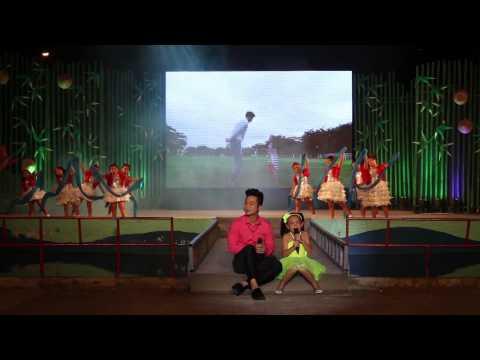 Bé Bào ngư và Quách tuấn du - Ba ơi con muốn hát ba nghe LIVE