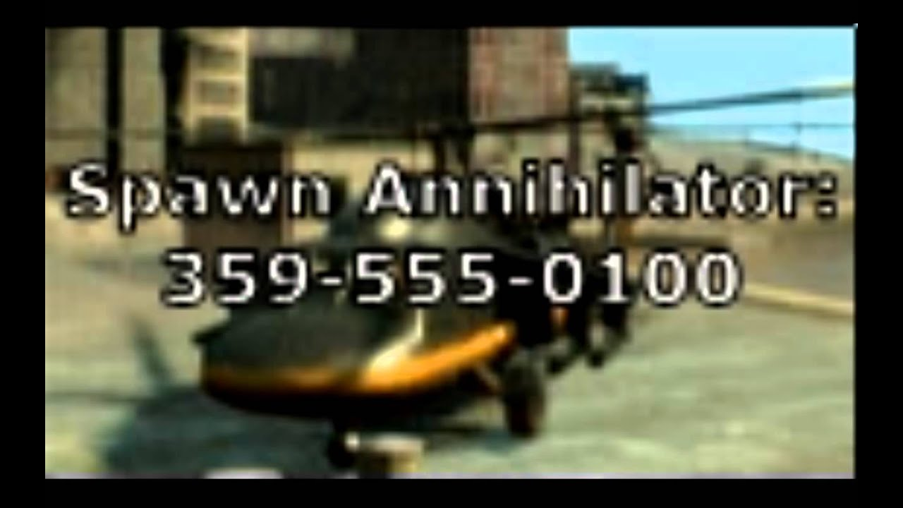 GTA IV CODES (PS3) - YouTube