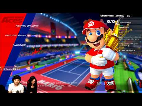 Nintendofan#69 - Mario Tennis ACES beta part2