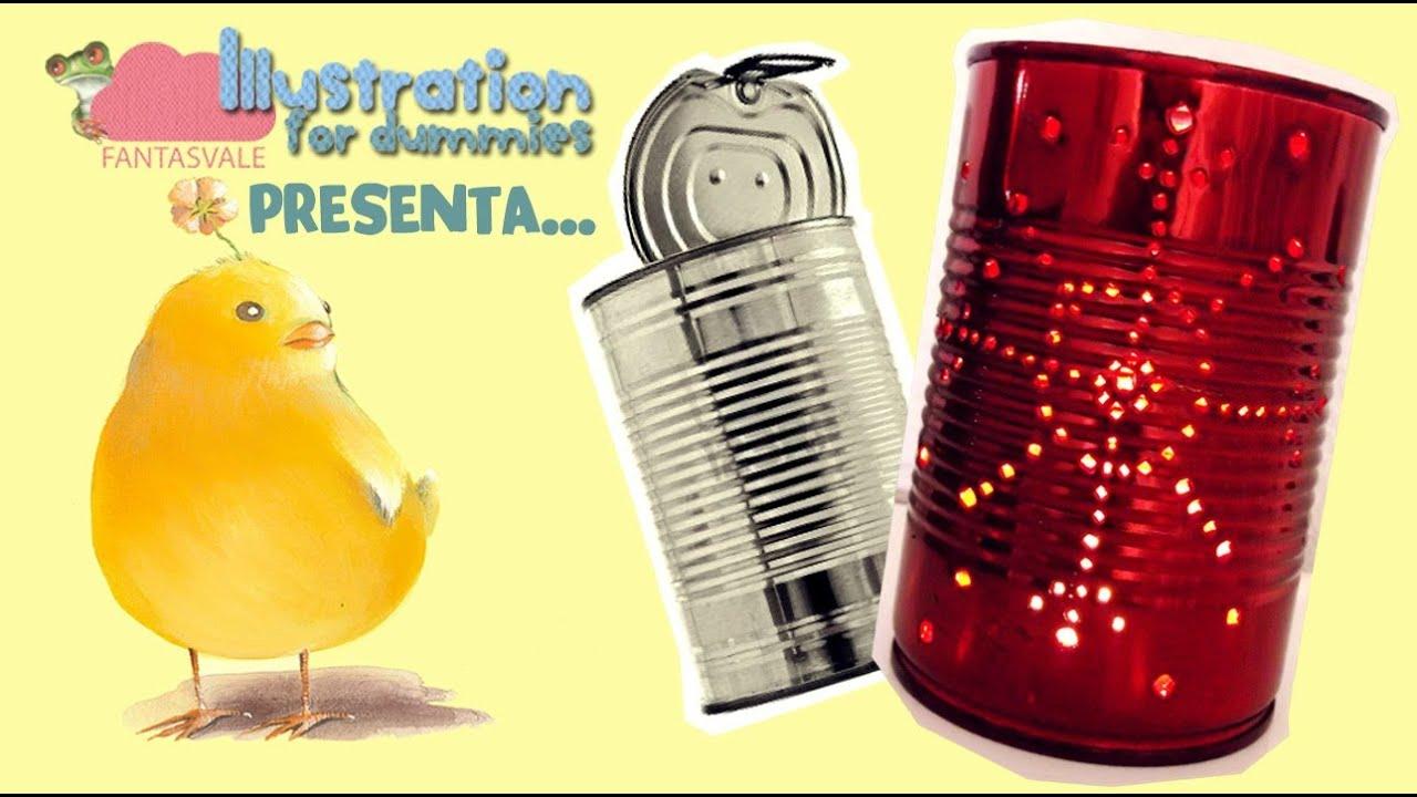 Tutorial riciclo creativo di natale come fare lanterne - Decorare lanterne ...